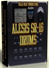 alesis sr16 drum machine samples