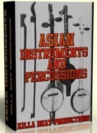 asian instrument &  percussion samples   -