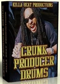 crunk producer drums & samples
