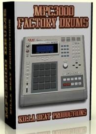 mpc3000 factory drum samples    *download*