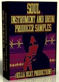 soul producer drums & instrument samples
