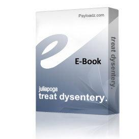 treat dysentery. | eBooks | Health
