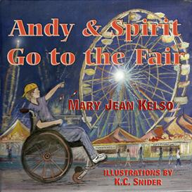 andy & spirit go to the fair