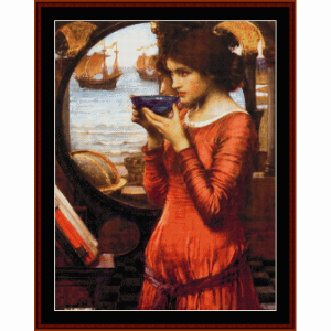 Destiny - Waterhouse cross stitch pattern by Cross Stitch Collectibles | Crafting | Cross-Stitch | Wall Hangings