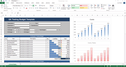 Fourth Additional product image for - Software Testing Templates – 50 MS Word + 40 Excel spreadsheets