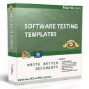 Software Testing Templates – 50 MS Word + 40 Excel spreadsheets | Software | Software Templates
