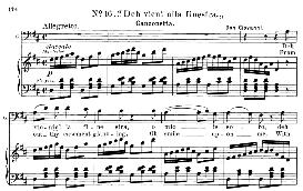 deh vieni alla finestra (aria for baritone or bass. w.a.mozart: don giovanni, k.527, vocal score. ed. schirmer, it-engl (1900