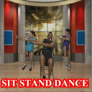 sit stand and dance
