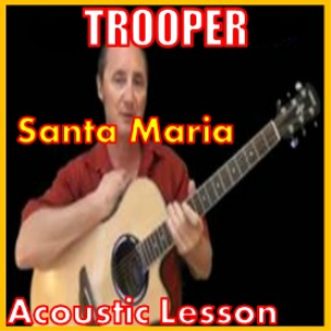 learn to play santa maria by tropper