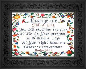 name blessings - evangeline 2