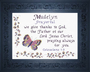 name blessings - madelyn 4