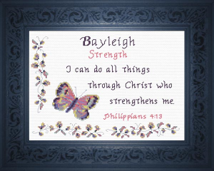 name blessings - bayleigh 3
