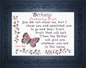 name blessings - bethany 2