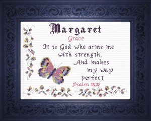 name blessings - margaret