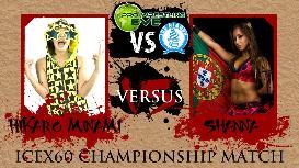 icex60 championship: hikari minami [champion] vs shanna