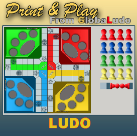 ludo print and play