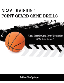 ncaa division1 point guard game drills