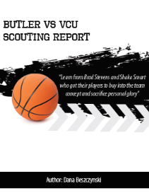 butler vs vcu scouting report