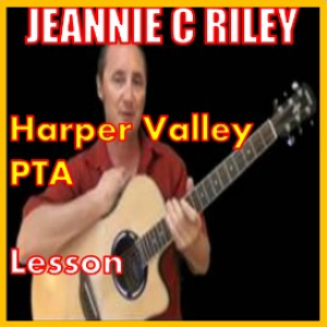 learn to play the harper valley pta by jeannie c riley