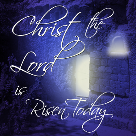 christ the lord is risen today sheet music