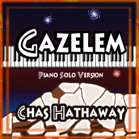 gazelem sheet music (piano solo version)