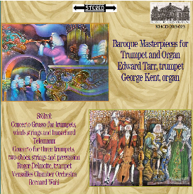 baroque masterpieces for trumpet and organ edward h. tarr, trumpet