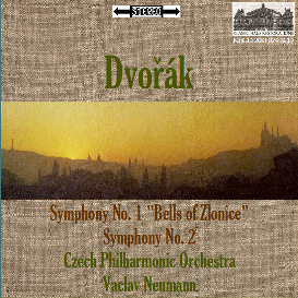 dvorak: symphonies nos. 1 & 2
