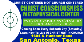 christ consciousness metaphysical class