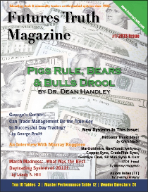 futures truth magazine:  issue #1/2013