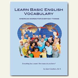 learn basic english vocabulary