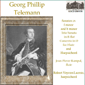 telemann: music for flute and harpsichord - rampal/veyron-lacroix