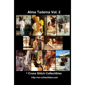 alma tadema vol 2 dvd collection - cross stitch pattern by cross stitch collectibles
