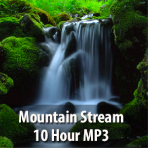 mountain stream mp3 (10 hours)