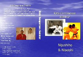 nijushiho & niseishi - kata comparison seminar