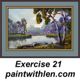 21 paint a pretty river