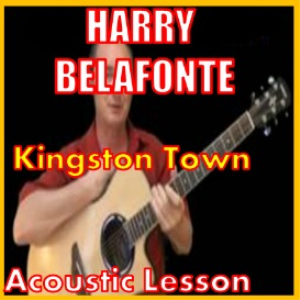learn to play kingston town by harry belefonte