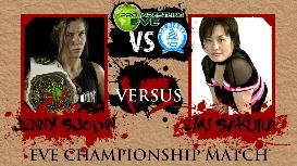 eve championship: jenny sjodin (c) vs emi sakura