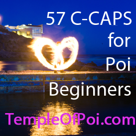 poi lesson: 57 c-caps for beginners