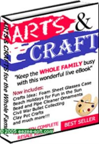 the ultimate hobbies, art, and craft ebook for everyone