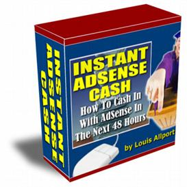 instant adsense cash | Software | Business | Other
