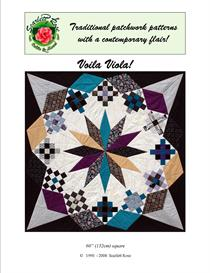 voila viola! pieced quilt pattern