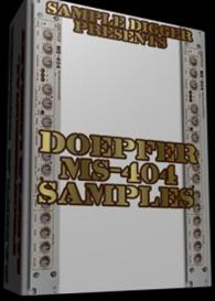 doepfer ms 404  - 124 wav samples