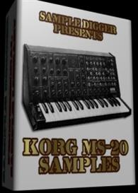 Korg Ms-20  -  416 Wav Samples | Music | Electronica