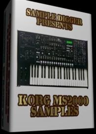 Korg Ms2000   -  262 Wav Samples | Music | Electronica