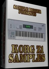 Korg Z1  -  997  Wav Samples | Music | Electronica