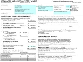 Application for Payment G702 - G703 | Other Files | Documents and Forms
