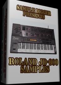 roland jd 800  -  1401 wav samples