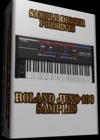 roland juno-106  -  300 wav samples