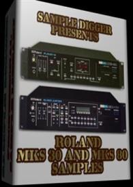 roland mks 30 & mks 80    -    628 wav samples