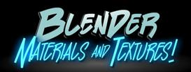 blender materials and textures